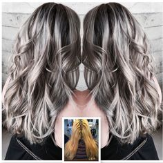 How-To: Blonde to Edgy Silver