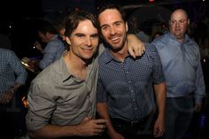 Jeff and Jimmie after Party