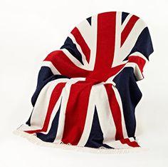 Bronte Throw Blanket - Rule Britannia - Merino Lambswool (Union Jack - Red/White/Blue) Bronte http://www.amazon.com/dp/B00PBK843E/ref=cm_sw_r_pi_dp_d6jAwb0BABYM8