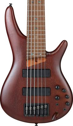 Ibanez 6 String Bass Guitar In Brown Mahogany - Andertons Music Co. Bass Guitar Case, Custom Bass Guitar, Guitar Solo, Acoustic Guitar, Bass Guitars, Classic Nursery Rhymes, Cheap Guitars, Learn To Play Guitar, Let's Have Fun