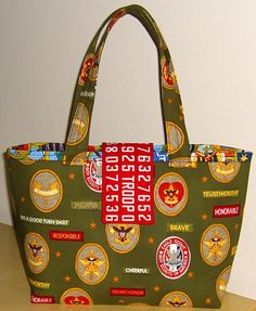 Boy scouts bag!! I want this!!
