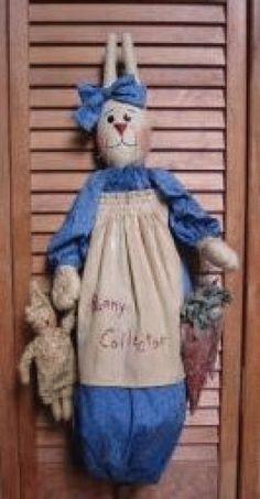 PatternMart.com ::. PatternMart: Bunny Bag Doll Pattern PM