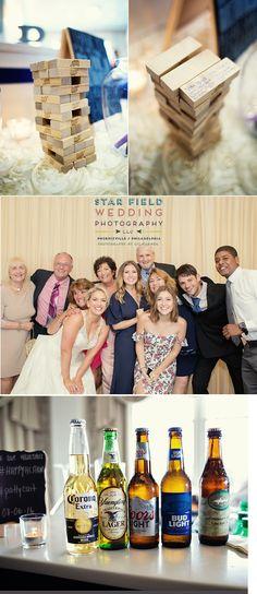 Philadelphia Wedding Photographer Blog - Liz Warnek Photography - Phoenixville Wedding Photographer : Caitlin and Pat's Wedding - Springfield Country Club and St. Coleman's church Ardmore #SpringfieldCountryClub  #SpringfieldCountryClubWedding #SpringfieldCountryClubCocktailHour #WeddingJengaBlocks