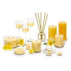 Www.partylite.biz/sampson Daffodil scented candle collection