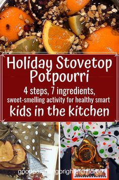 Here are 3 recipes for making the best DIY Stovetop Potpourri. Halloween, Thanksgiving & Christmas—it's all here. A great DIY kids project; fun for gift-giving and more. Seven ingredients & 4 simple steps plus lots of extra goodies for learning. Fall Potpourri, Stove Top Potpourri, Homemade Christmas Gifts, Christmas Ideas, Christmas Elf, Christmas Vacation, Christmas Christmas, Holiday Ideas, Recipe Girl