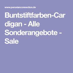 Buntstiftfarben-Cardigan - Alle Sonderangebote - Sale