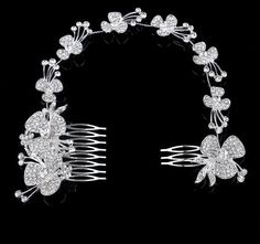 Sexy Bridal Head Pieces Flower Rhinestone Enviromental Friendly Alloy Wedding Long Hair Comb Bridal Hair Accessories Cheap Wedding Jewelry Claw Hair Clips From Janet521, $6.34| Dhgate.Com