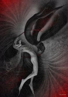 Black angel-White angel     Valery Petelin