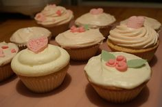 Rose water Cupcakes by Icing Bliss, via Flickr