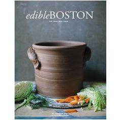 That Nutty Redhead is proud to have been featured in Edible Boston magazine. Fermentation Crock, Sustainable Food, First Bite, Boston, Spices, Ceramics, Healthy, Tableware, Gourmet