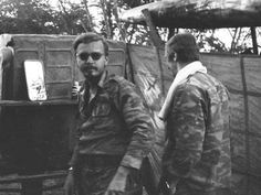 A Soviet officer at Cuito Cuanavale in 1987.