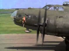B-17 take-off from the movie Memphis Belle