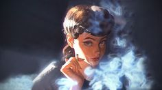 Blade Runner, Artistic, Fantasy Girl, Ilya Kuvshinov, Women wallpaper preview