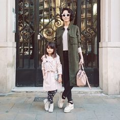 The chicest in mommy-and-me #style via Style In Lima, featuring #Zinda lace-up shoes. styleinlima.net/