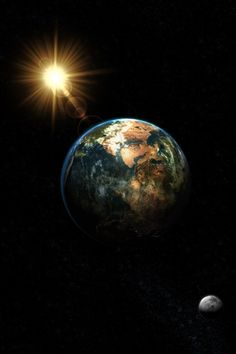 "Planet Earth... ""And one by one the nights between our separated cities are joined to the night that unites us."" ― Pablo Neruda"