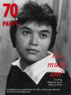 Design by Amalgam Project (9 photos) Fragment din albumul dedicat Luciei care astăzi împlinește 70 ani.  La mulți ani!