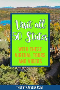 Is visiting all 50 states on your bucket list? Here's how you can use the Internet to visit all 50 states with these virtual tours and videos! Virtual Travel, Virtual Tour, Virtual Field Trips, Educational Websites, Home Schooling, 50 States, Learning Activities, Travel Usa, Middle School