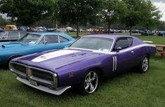 1971 Dodge Charger RT #dodgechargervintagecars