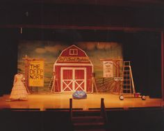 Babes in Arms by Richard Rodgers and Lorenz Hart May 1982 Flint Central High School Theatre Magnet Scenery and Lighting Design by Martin W. Jennings