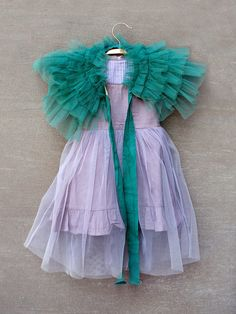 Can someone teach me how to sew so I can make this?Gia Ruffled Caplet by Joyfolie at Gilt