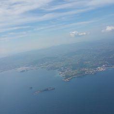 Landing in Ibiza