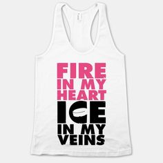 Fire In My Heart, Ice In My Veins | HUMAN | T-Shirts, Tanks, Sweatshirts and Hoodies