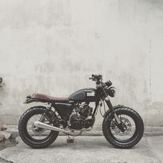 little dirtbag #scrambler discover #motomood