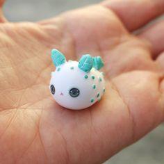 Little Sea Bunny Slug Figurine