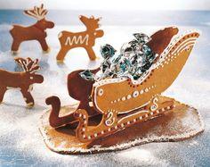 Piparireki | K-ruoka #joulu #piparkakku Christmas Gingerbread House, Christmas Deco, Rustic Christmas, Christmas Treats, Christmas Baking, All Things Christmas, Christmas Time, Gingerbread Houses, Gingerbread Cookies