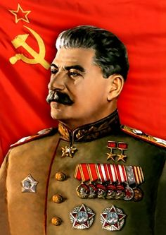 Joseph Stalin was the leader of the USSR after Lenin. He was a harsh, overbearing, and repressive ruler who murdered over 10 million Soviet citizens in gulags. He was also responsible for officially beginning when he invaded East Poland. Military Ranks, Military Art, Military History, Communist Propaganda, Propaganda Art, Hassan 2, Joseph Stalin, Socialist Realism, Soviet Art