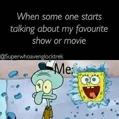 More like when someone starts talking about a kdrama or kmovie that I've seen.