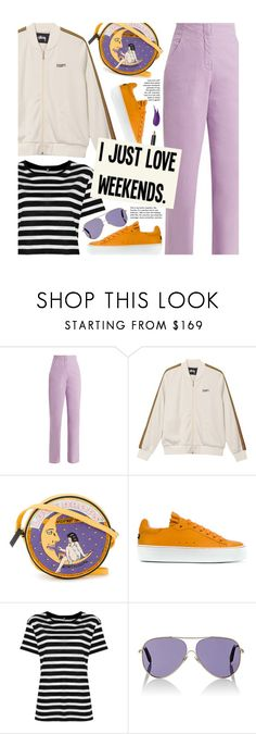 """""""Casual Weekend Outfit"""" by beebeely-look ❤ liked on Polyvore featuring TIBI, Olympia Le-Tan, Jil Sander Navy, R13, Victoria Beckham, Burberry, casual, weekend, casualoutfit and weekendstyle"""