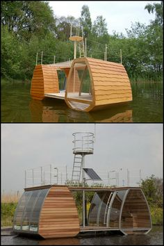 Have You Ever Thought of Living Aboard a Houseboat or a Floating Home?