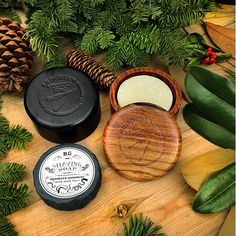 Brooklyn Grooming Wooden Shaving Bowl with lid. A timeless, natural, handmade wooden shave soap bowl with lid. A must for any wet-shaver who uses shaving soap! #brooklyngrooming #brooklynsoap #handmade #shaving #barber #natural #best