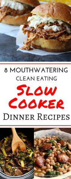 This roundup is filled with 7 mouthwatering easy slow cooker recipes. These are all cheap healthy slow cooker recipes and I can't wait to try every single one! Crockpot meals are my favorite for dinner! This roundup has beef, pork, vegetarian, chicken, and soup crockpot recipes for the whole family, even for kids! #slowcookerrecipes #slowcooker #dinnerrecipes