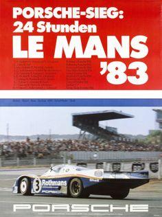Le Mans 83, Porsche-Sieg: 24 Stunden