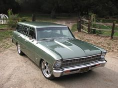 1967 Chevy Nova Wagon the SUV before the term was invented.