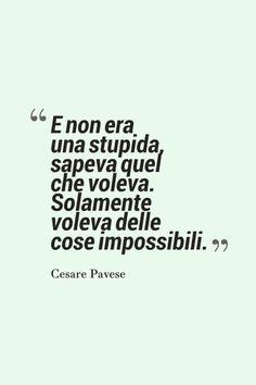 Delle cose impossibili