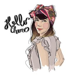 hello, there !   illustration art  marinauc.wordpress.com