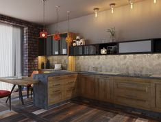 We present our guide to the 25 Best Kitchen Lighting Ideas from clean cool LED lighting to industrial pendants and everything in between! Kitchen Lighting Layout, Best Kitchen Lighting, Cool Lighting, Lighting Ideas, Industrial Style Kitchen, Kitchen Pendants, Smart Home, Cool Kitchens, Blog