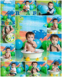 Dinosaur First Birthday, Baby Birthday Themes, Boys First Birthday Party Ideas, 1st Birthday Cake Smash, Baby Boy 1st Birthday, Birthday Party Decorations, 1st Birthdays, Houston Tx, Streamer Backdrop