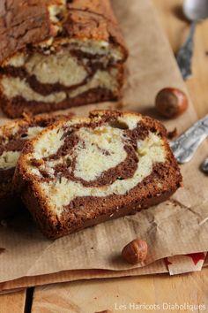 Cake marbré aux deux chocolats et aux noisettes (4)