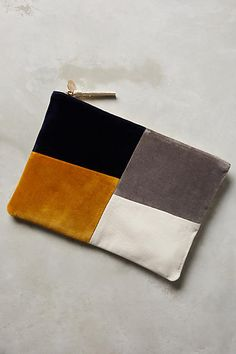 Asymmetry Pouch - anthropologie.com