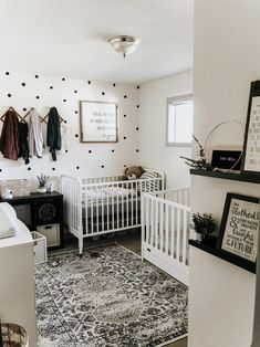 Our Functional Shared Nursery Reveal - Modern