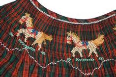christmas horse smocking - Yahoo Search Results