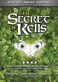 8 St. Patricks Day Movies for Kids and Families: The Secret of Kells