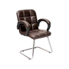 """OFFICE VISITOR CHAIR {MID- BACK}   it's key features include:  KEY FEATURES  SOFT SEAT PADDING SEAT PAN FRONT EDGE """"WATERFALL"""" ARM REST – PADDED. HALF BACK SUPPORT NEAR TO SHOULDERS STRONG METAL FRAME PREFERABLY ANTI-STATIC SEATING COLOUR OPTIONS AVAILABLE"""
