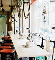 Bianchi Café & Cycles   Stockholm