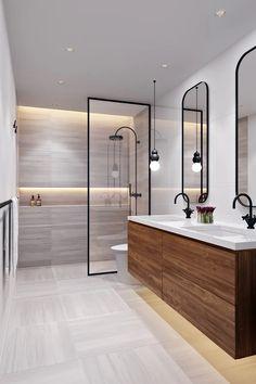 Contemporary bathrooms 721772277765449807 - 44 magnificient scandinavian bathroom design ideas that looks cool 28 Scandinavian Bathroom Design Ideas, Contemporary Bathroom Designs, Bathroom Design Luxury, Bathroom Layout, Modern Bathroom Design, Bathroom Ideas, Bathroom Organization, Bathroom Storage, Bath Design