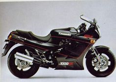 GPz 1000RX, 1987